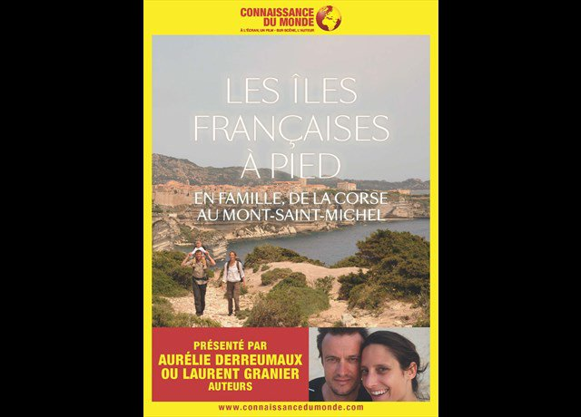 Agenda Pornic : Les îles françaises à pied - Connaissance du Monde - L. Granier (Conférence) - Ouest-France