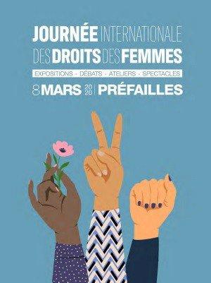 Le 8 mars sur le territoire Pays de Retz à Préfailles dans le cadre de la journée internationales des Droits des Femmes