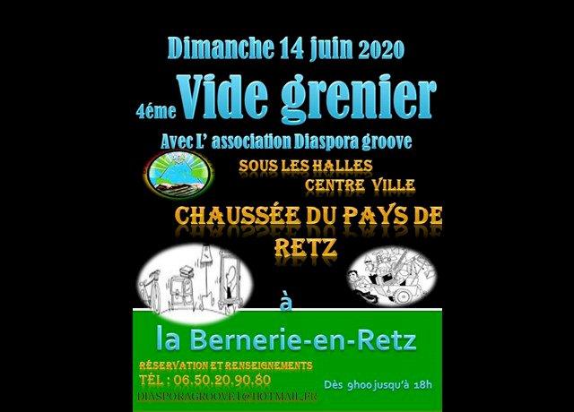 Agenda La Bernerie-en-Retz : Vide-greniers de l'association Diaspora Groove (Acheter, chiner) - Ouest-France