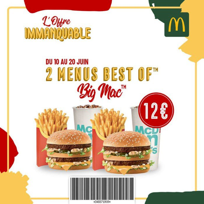 OFFRE IMMANQUABLE