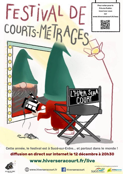 Festival L'Hiver Sera Court 2020 en ligne