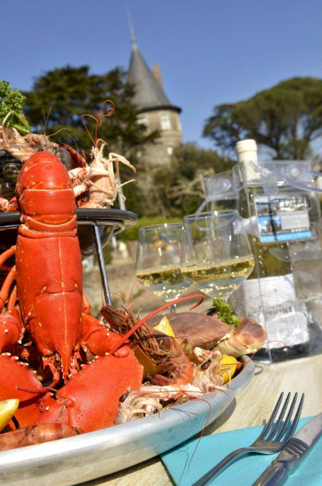Chez Loulou, le restaurant Le château Vente à emporter pour les réveillons de Noël & Saint Sylvestre