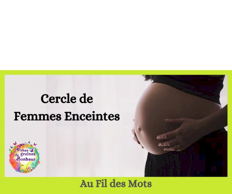 Au fil des mots, cercle de femmes enceintes