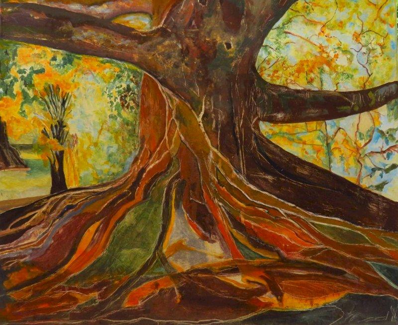 Exposition d'art organisée par Soutien migrants Redon et un collectif d'artistes