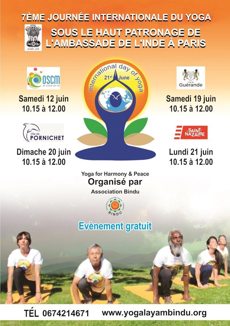 7e journée internationale du yoga