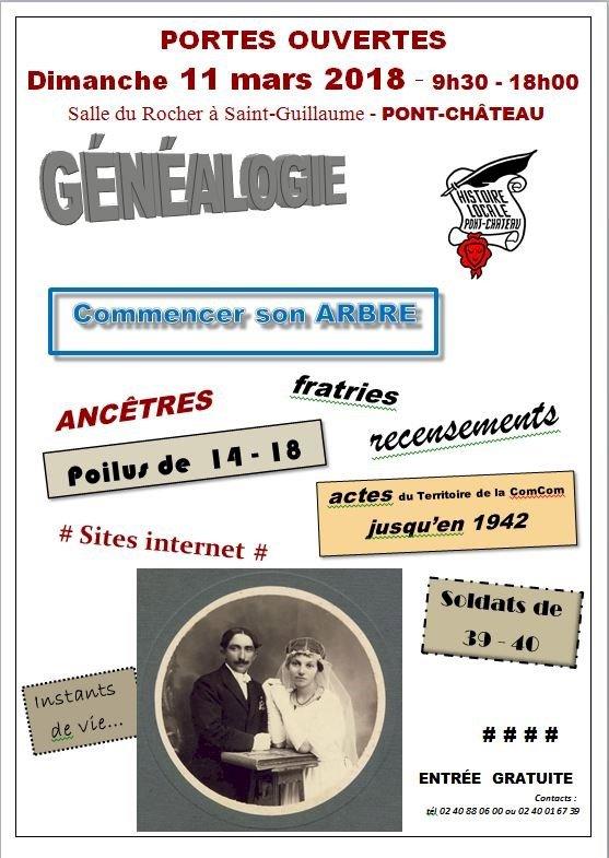 Histoire locale section généalogie 27es portes ouvertes