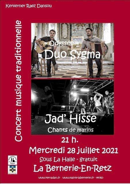 Concert Duo Sygma et Jad'Hisse