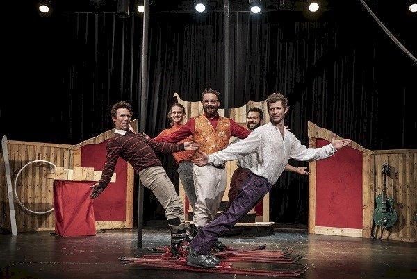 Les madeleines de poulpes, cirque musical - humour