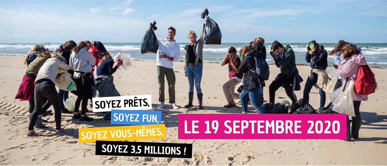 Journée mondiale du nettoyage de la planète
