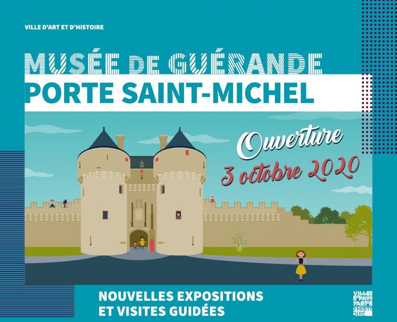Réouverture officielle de la porte Saint-Michel, musée de Guérande