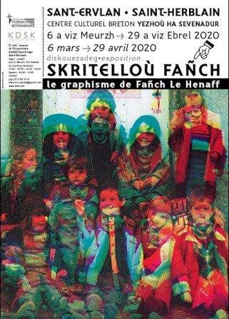 Exposition « Skritelloù Fañch, Le graphisme par Fañch Le Henaff »