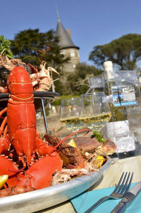 Chez Loulou, restaurant le château Pornic vous propose des plats à emporter