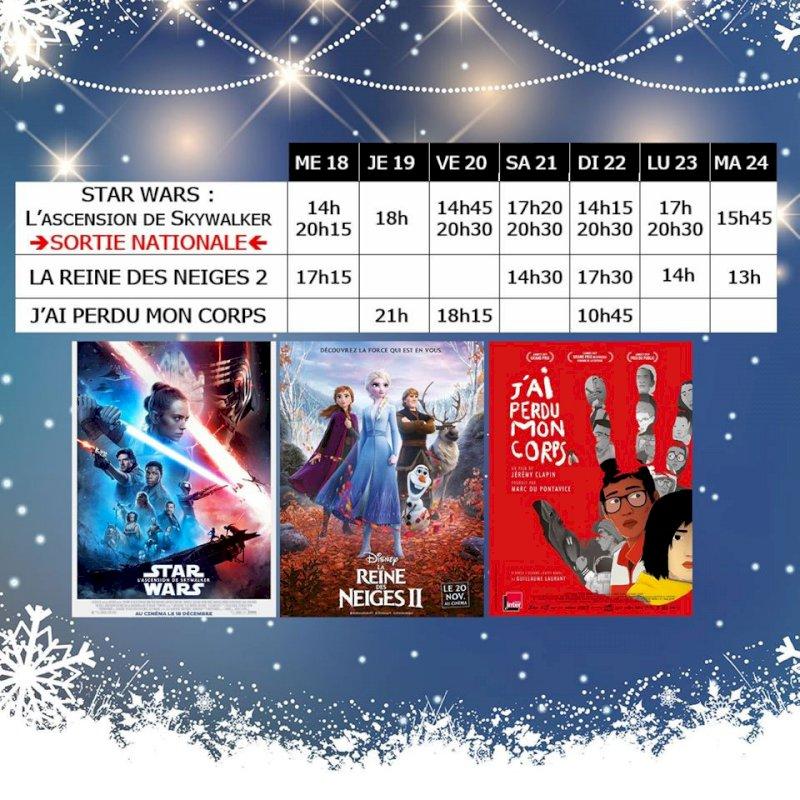 Programme du cinéma Saint Gilles du 18/12/2019 au 25/12/2019