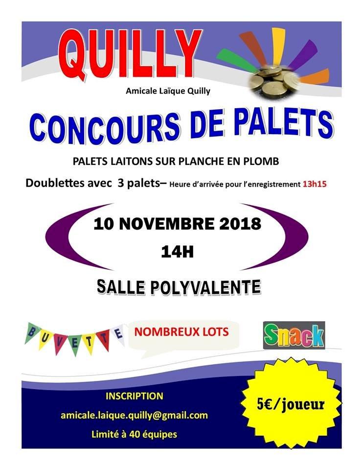 CONCOURS DE PALETS