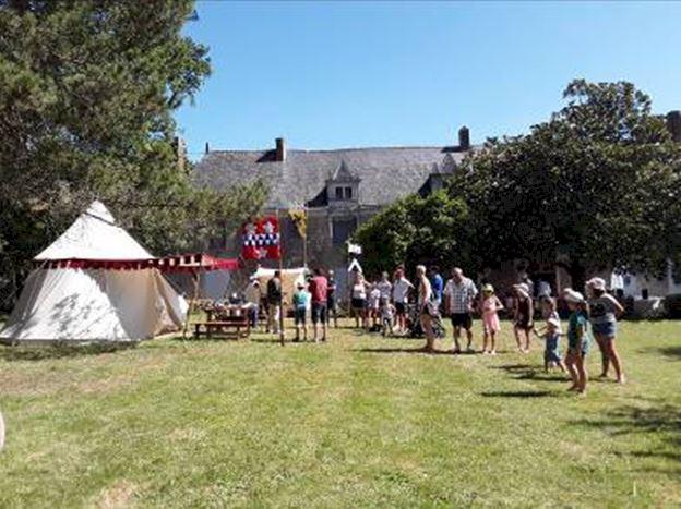 Campement médiéval