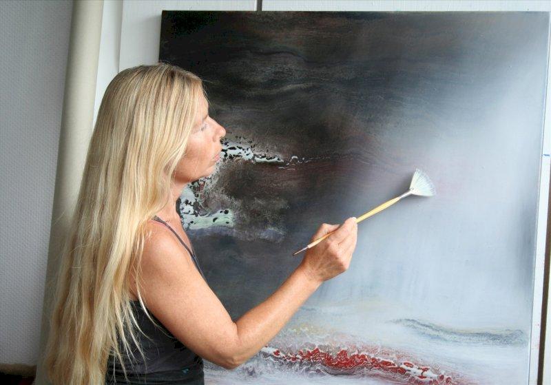 « Espaces », exposition de l'artiste peintre Carole Bécam