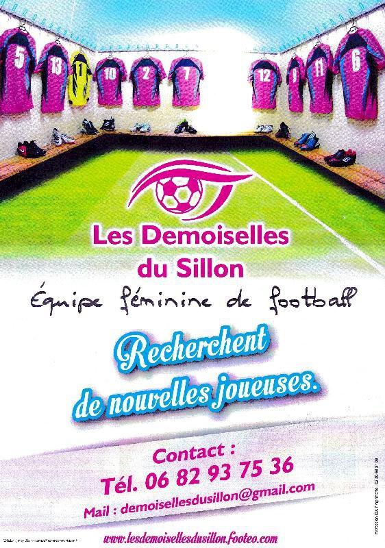Football féminin Les Demoiselles du Sillon