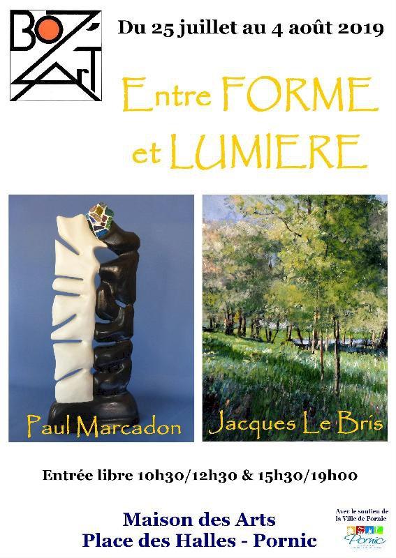 Exposition peinture et sculpture « Entre Forme et Lumière »