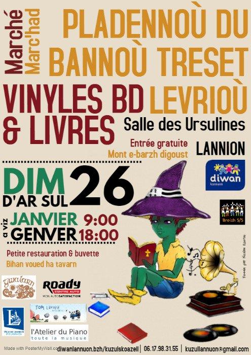 Marché aux Vinyles, BD & Livres
