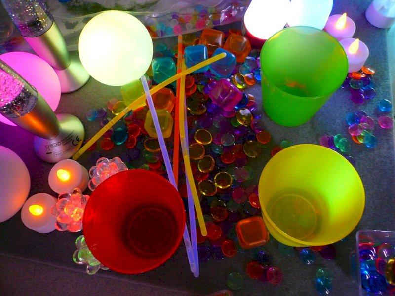 Atelier lumières parent-enfant pour les enfants jusqu'à 5 ans