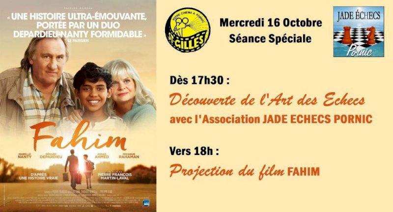 Ciné-Rencontre sur le film FAHIM avec le club JADE ECHECS PORNIC