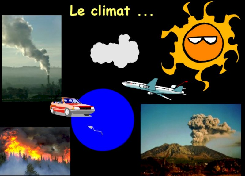 Le réchauffement climatique vu par l'association Grain de ciel