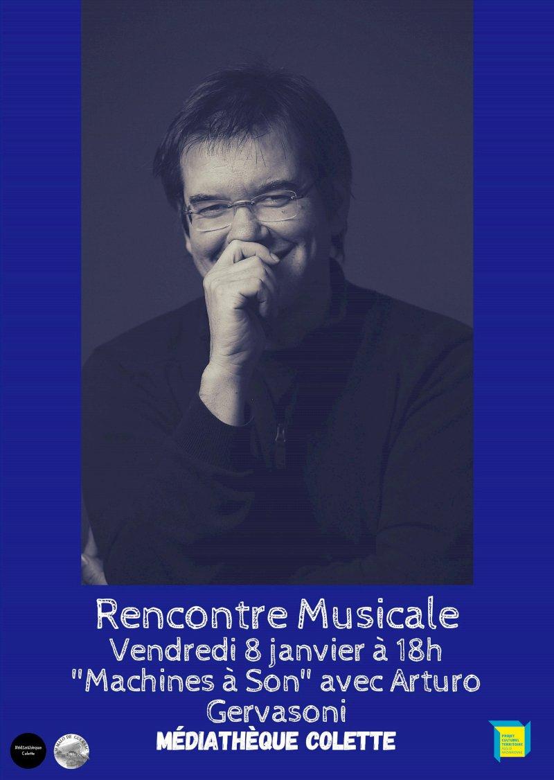 Rencontre musicale avec Arturo Gervasoni
