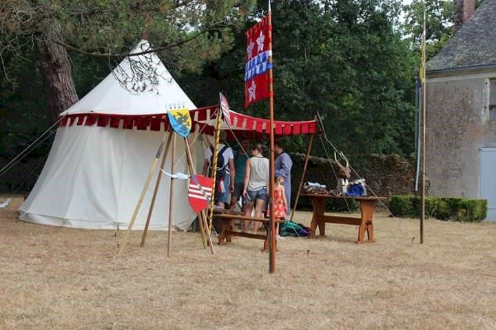 Campement médiéval de l'Escurays