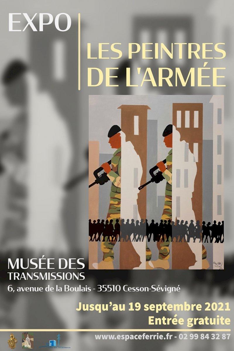Les Peintres de l'Armée s'exposent au musée des transmissions