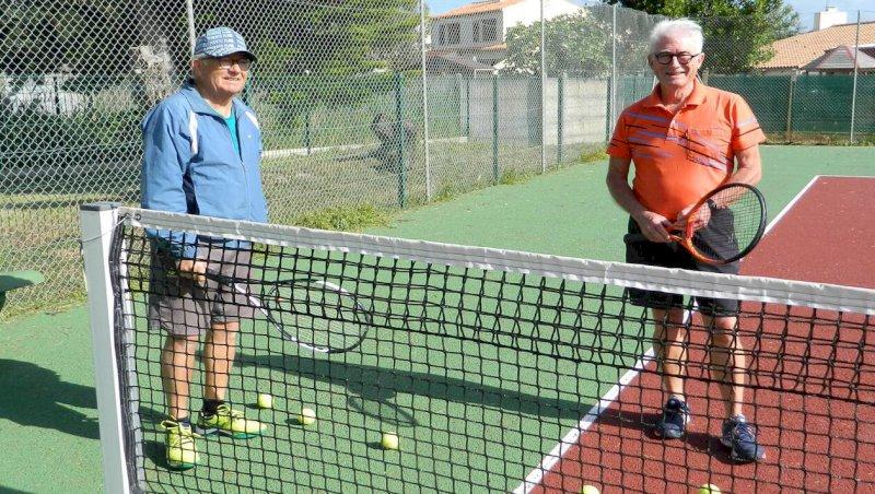 Les Moutiers-en-Retz. Les tennismen retrouvent les courts   Presse Océan