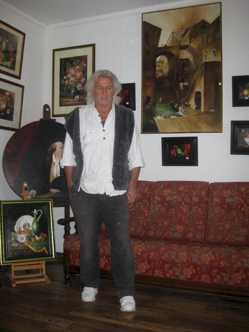 Robert Piquard, peintre pastelliste
