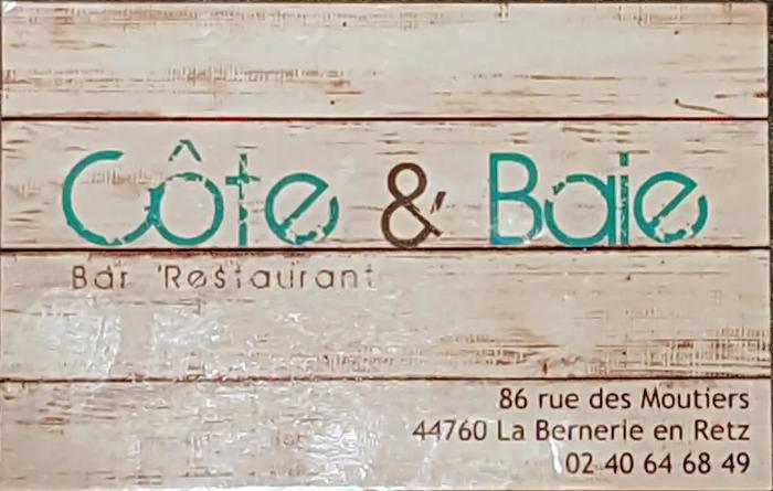 Les menus de la semaine de Côte & Baie à La Bernerie -en-Retz