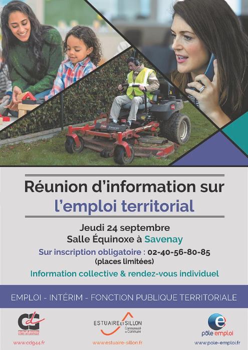 Réunion d'info sur l'emploi territorial à Savenay