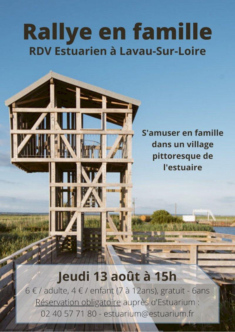 Rendez-vous Estuarien : rallye en famille
