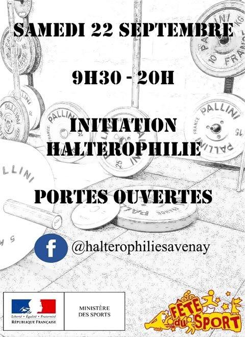 Porte ouverte Halterophilie