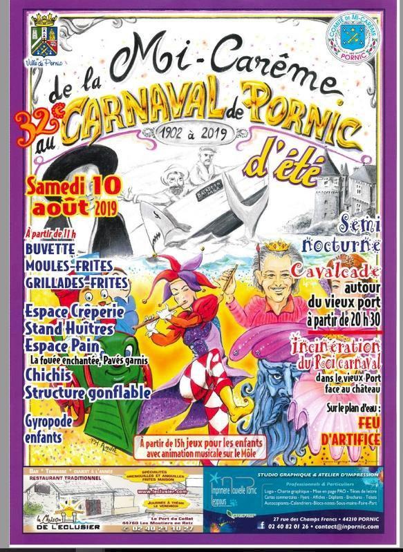 Carnaval d'été organisé par le comité de Mi-Carême