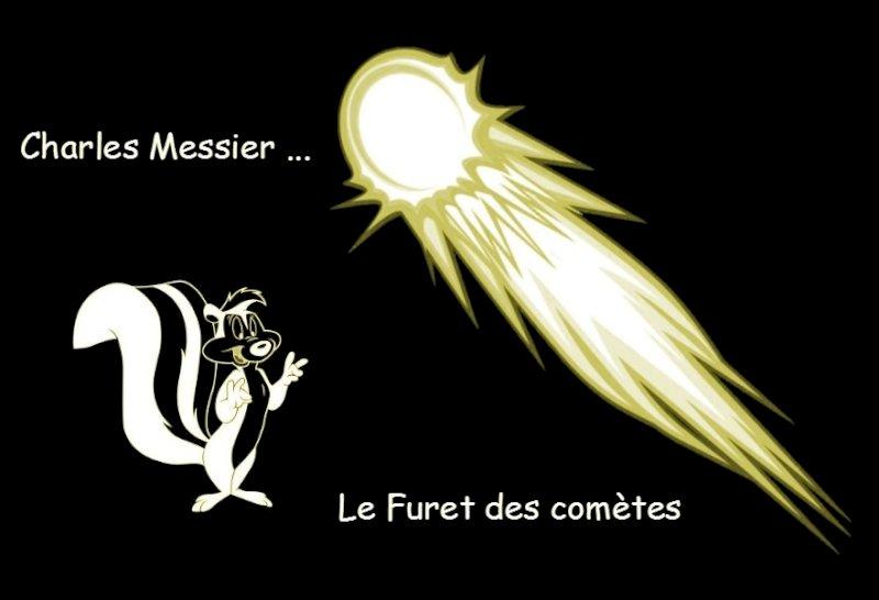 Charles Messier le furet des comètes, présenté par Grain de ciel