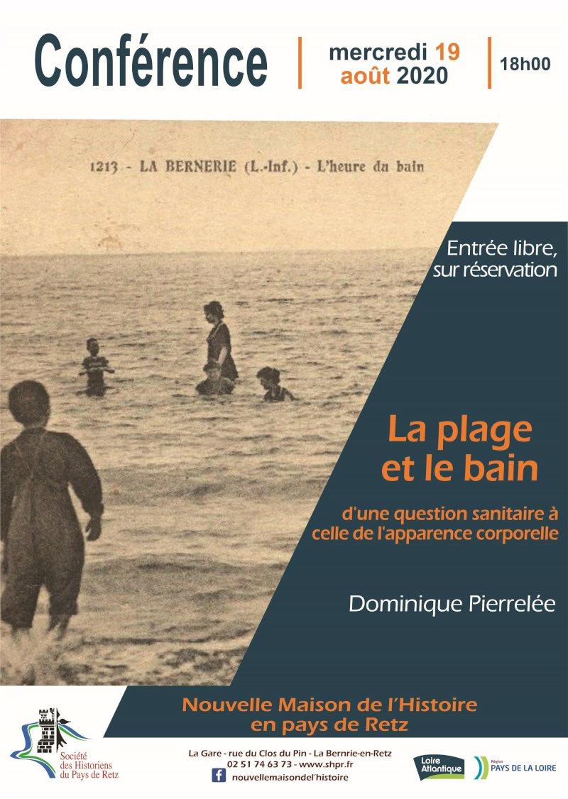 La plage, le bain et les corps : une histoire des apparences par Dominique Pierrelée