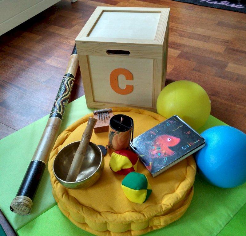 Atelier de relaxation ludique enfants