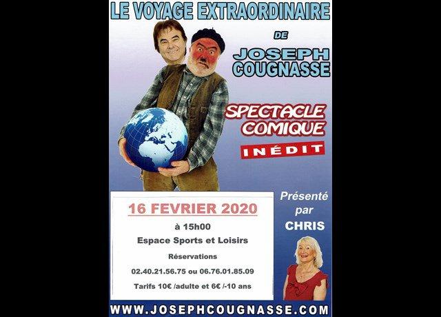 Agenda La Plaine-sur-Mer : Joseph Cougnasse (Spectacle) - Ouest-France