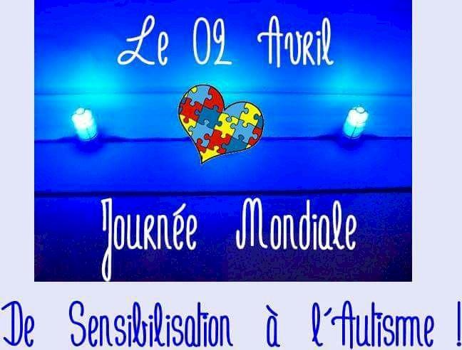 Journee Mondiale de Sensibilisation à l'autisme