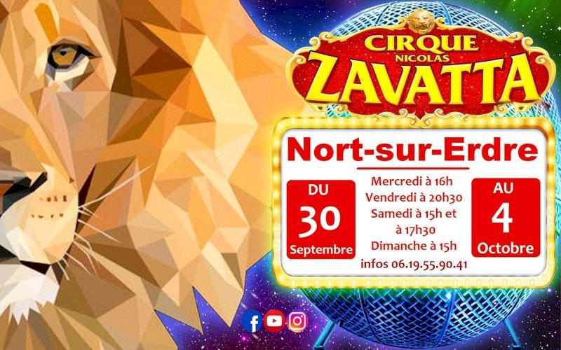 Cirque Nicolas Zavatta Douchet à Nort-sur-Erdre