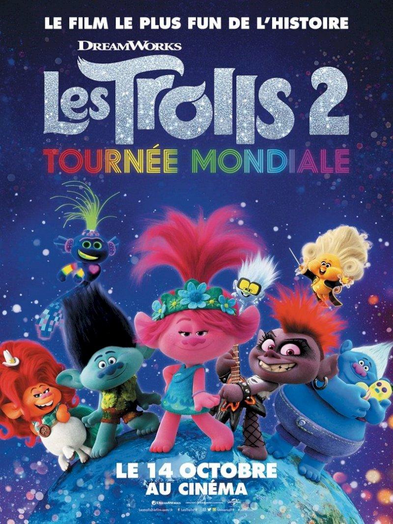 Avant première Les Trolls 2 - Tournée mondiale