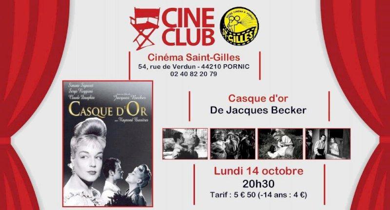 Ciné-Club : CASQUE D'OR