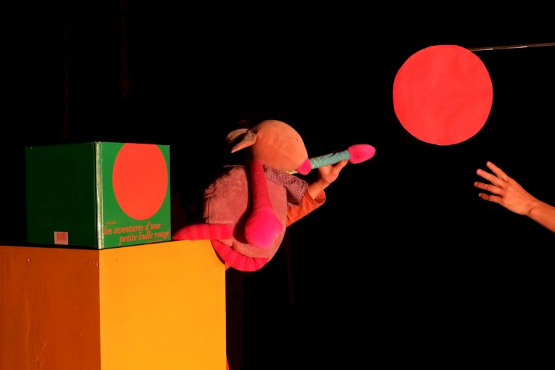 Spectacle tout-petits Loly Bulle - brico'comptines