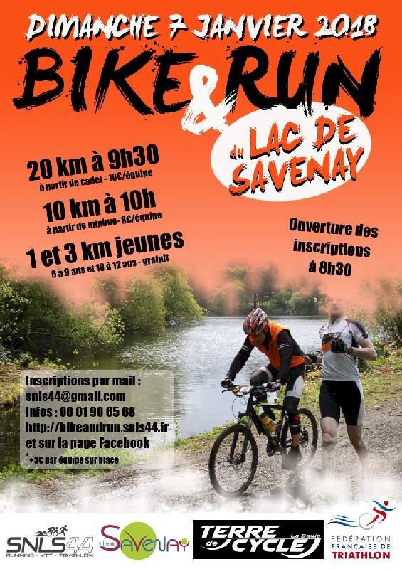 Bike and run du lac de Savenay