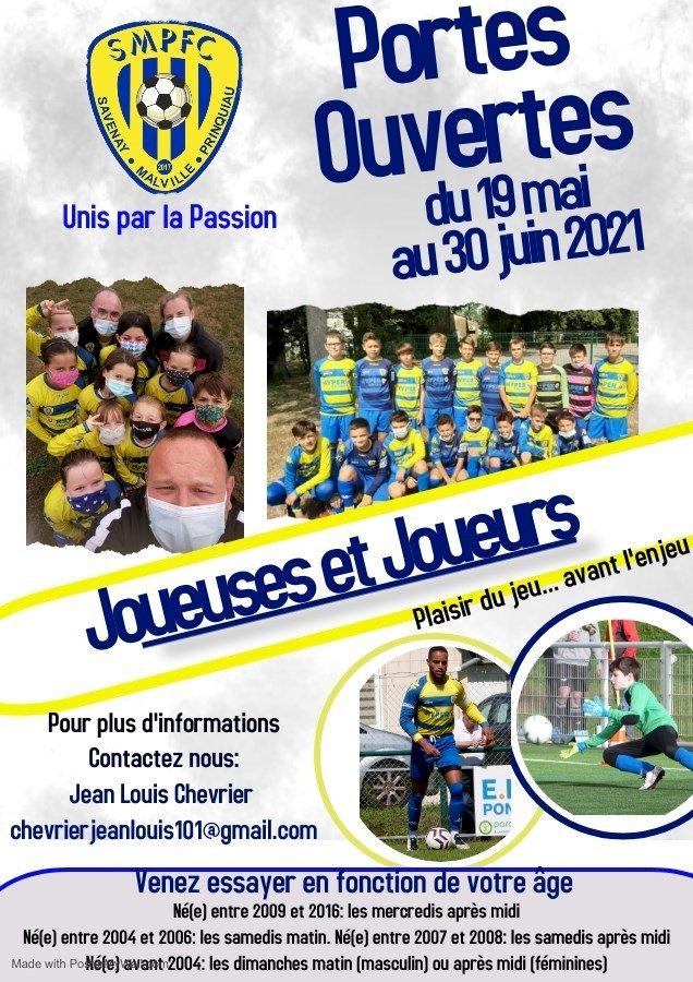 Portes ouvertes Savenay Malville Prinquiau FC