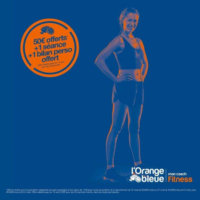 L'Orange Bleue à Savenay vous offre un cadeau de reprise !!