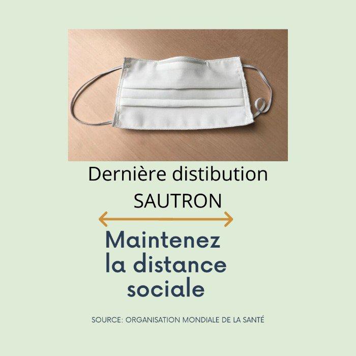 Le 27 mai 2020 Masques COVID-19 : une dernière distribution est organisée - Ville de Sautron