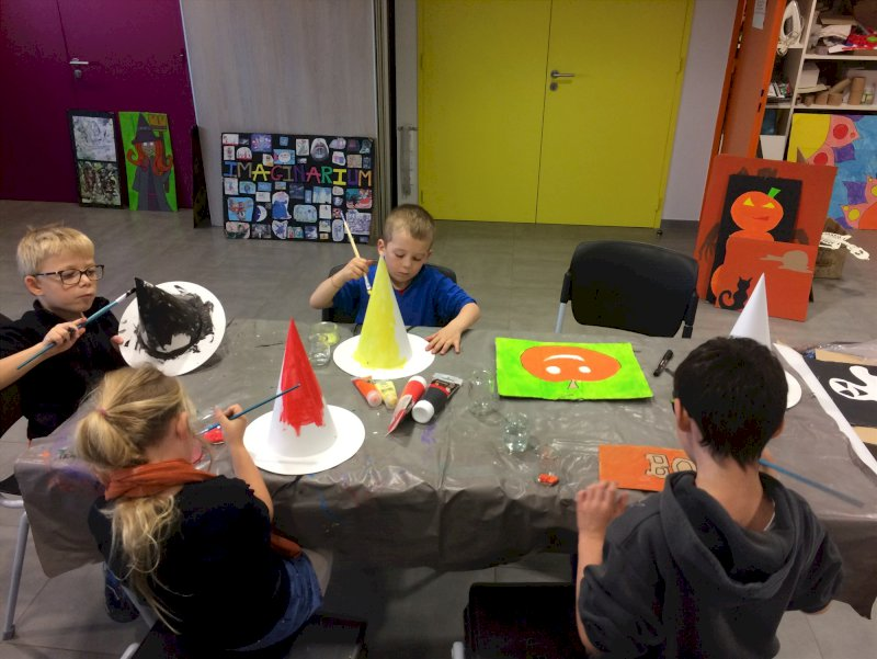 Atelier fabrication décoration d'Halloween